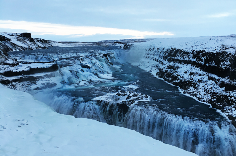 Waterfall, Iceland, travel, christmas, guide, stories, yule lads