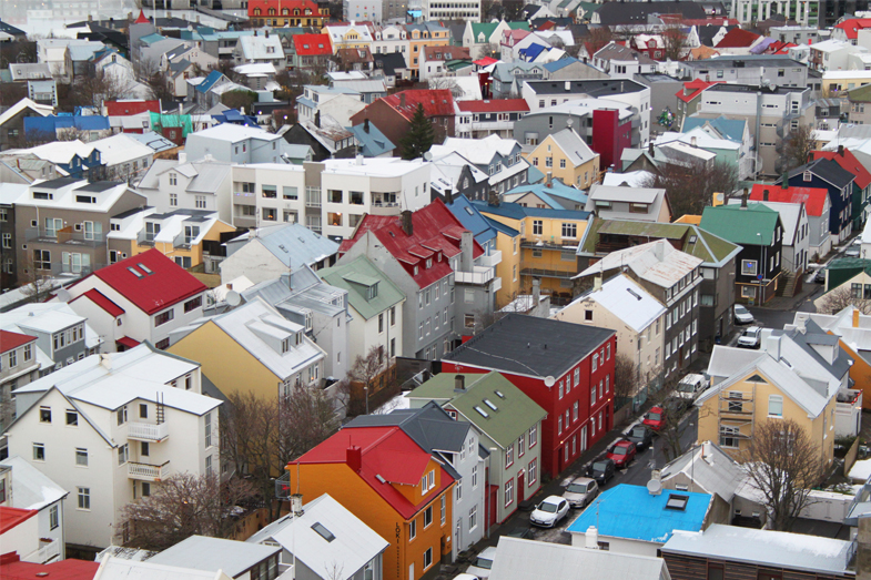 Iceland, Houses, View, Colourful, pretty Iceland, travel, christmas, guide, stories, yule lads