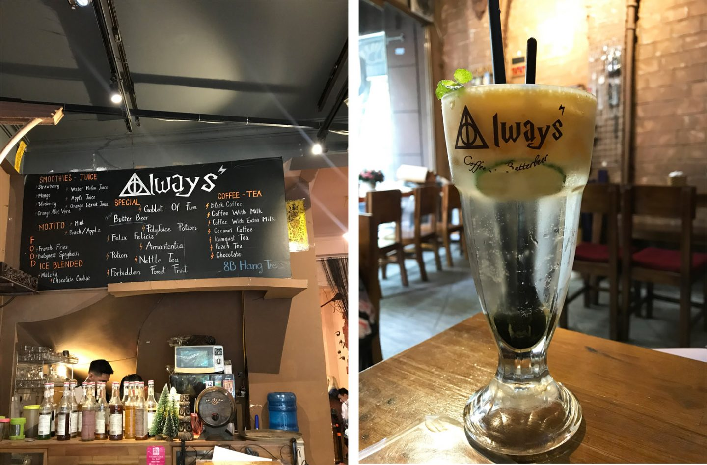 Always Harry Potter Cafe Hanoi