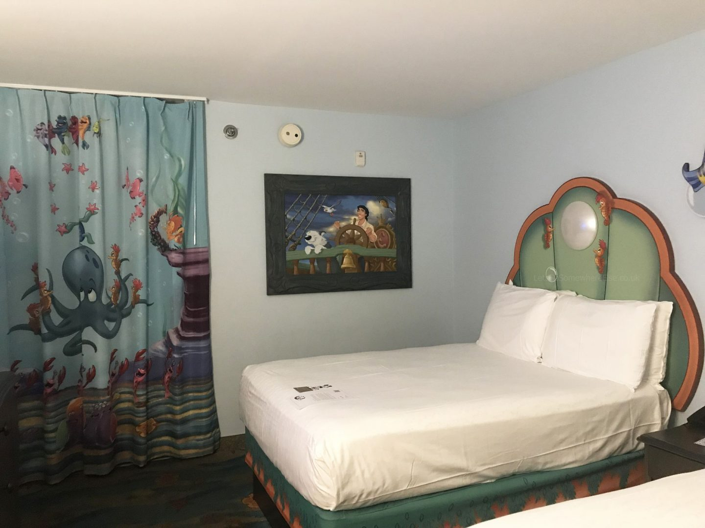 Disney World Art Of Animation Ariel Hotel Room