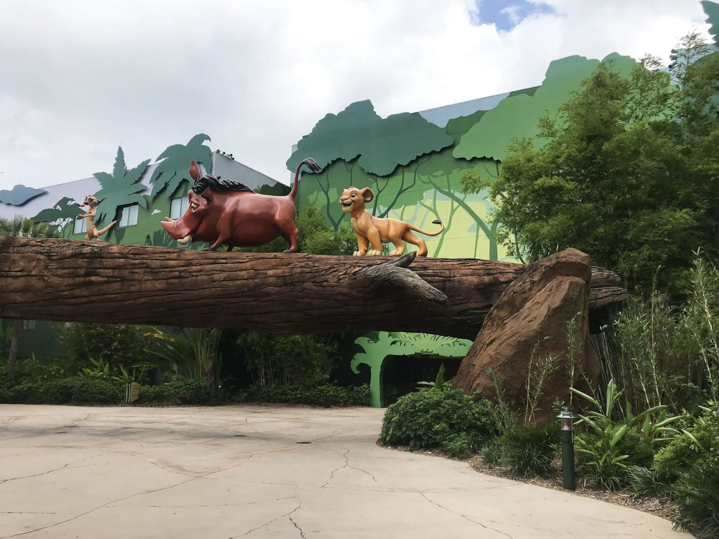 Disney World Art Of Animation Lion King Decor