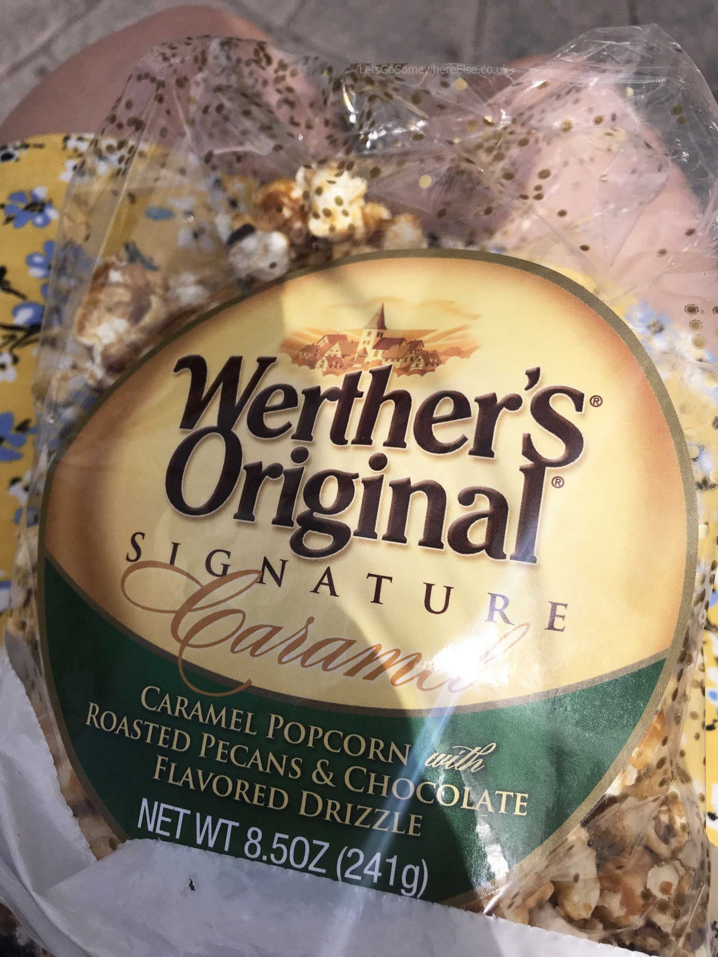 Werther's Original Shop Epcot Disney Snack