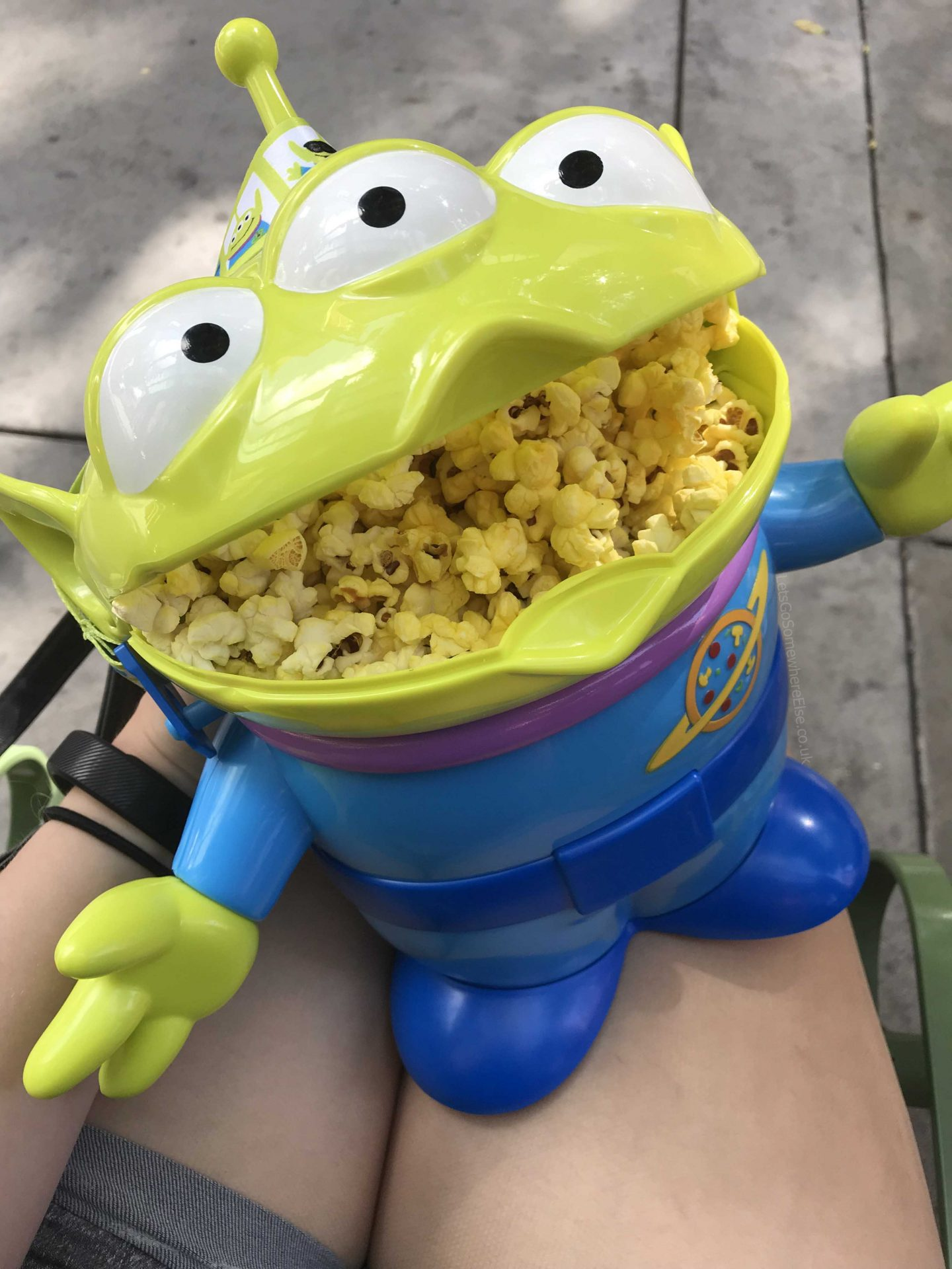 Toy Story Alien Bucket Hollywood Studios Disney Snack