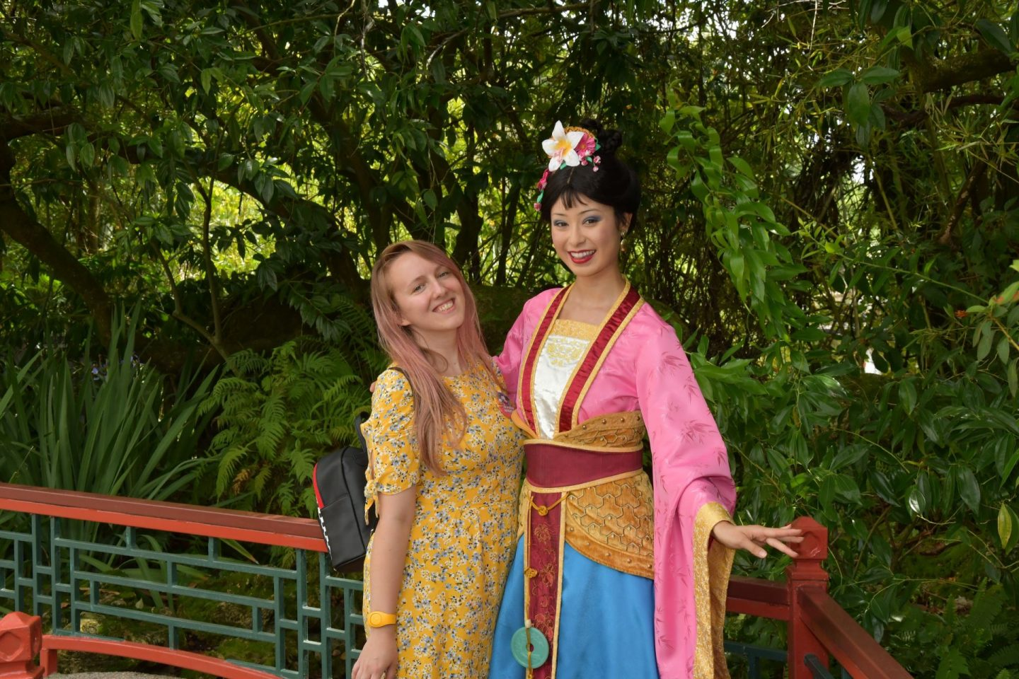 Disney World Florida Character Meet Mulan