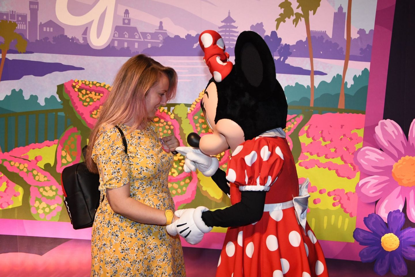 Disney World Florida Solo Character Meet Minnie