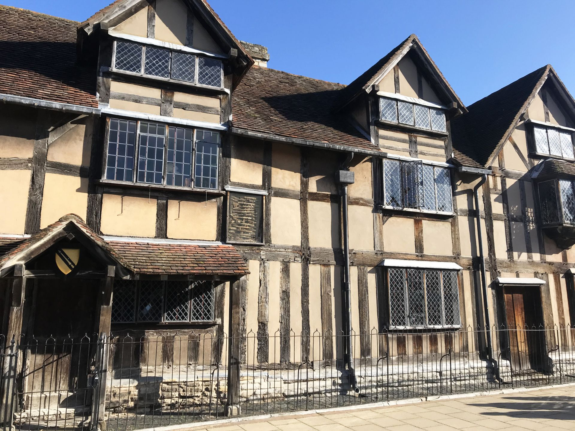 William Shakespeare's Birth House Stratford Upon Avon