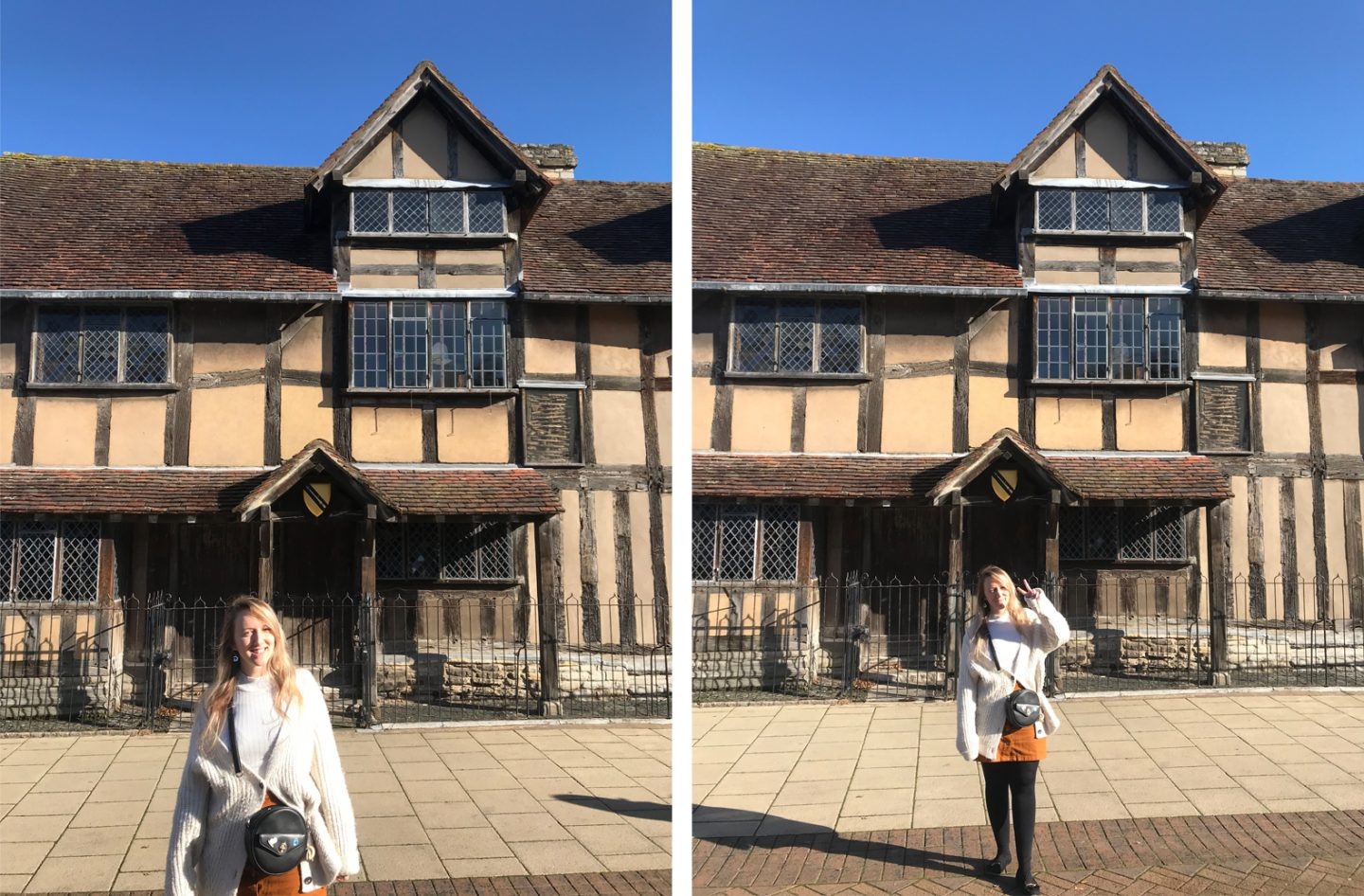 William Shakespeares Birth House Stratford Upon Avon