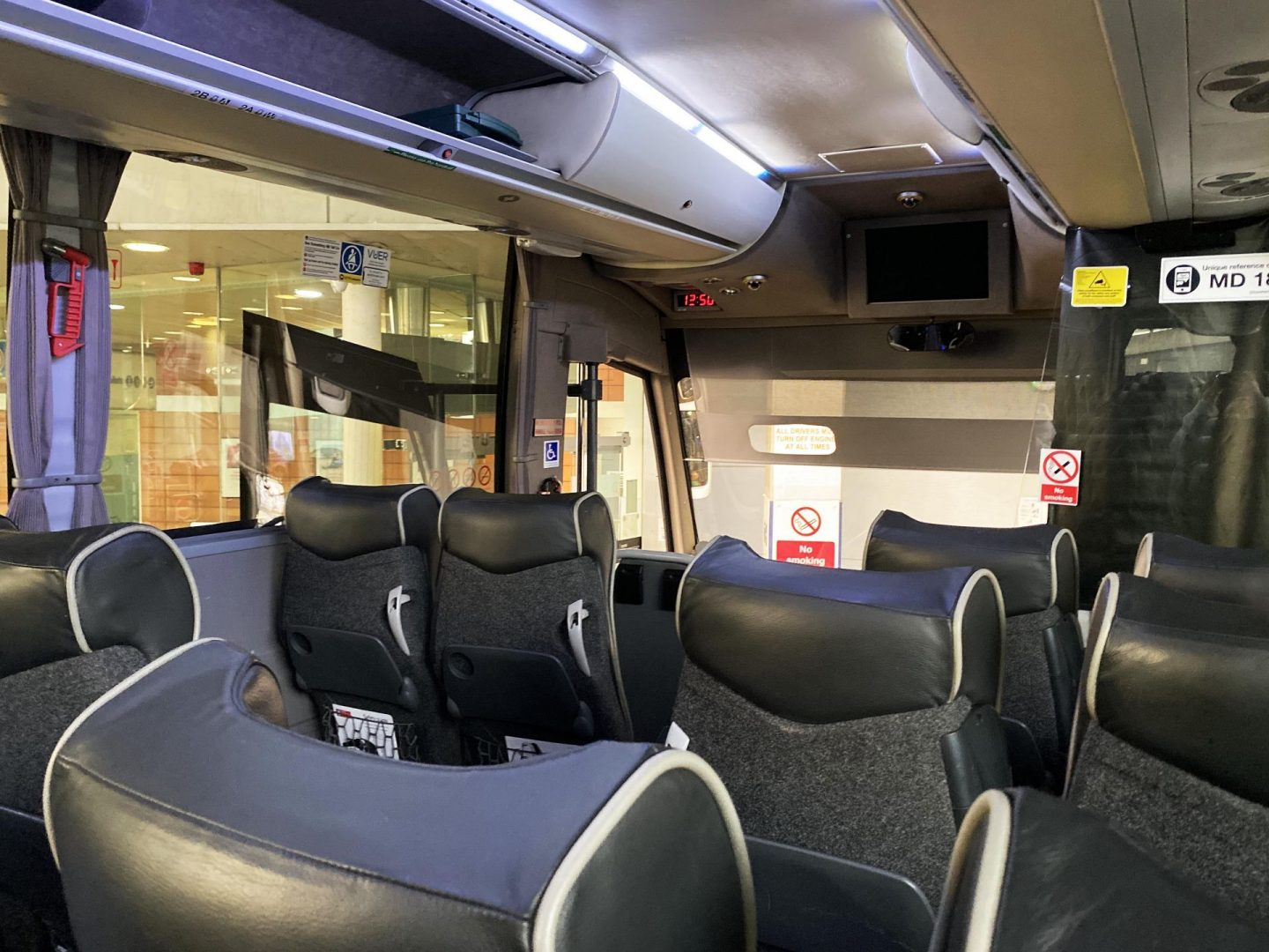 Interior National Express Coach
