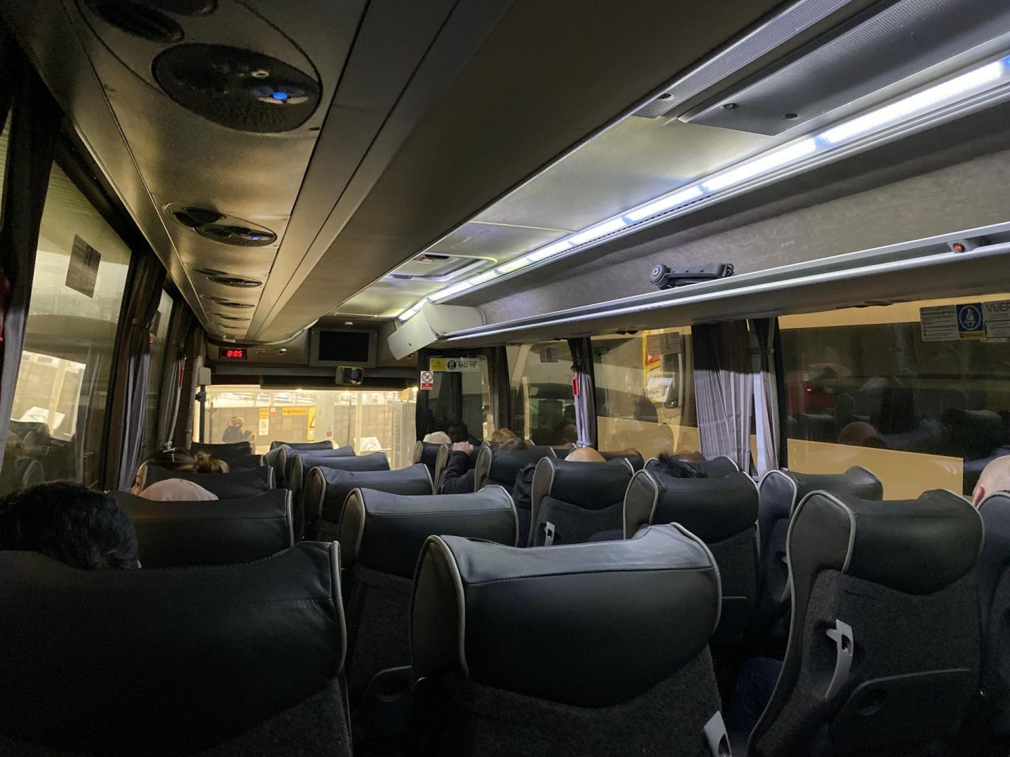National Express Coach Interior