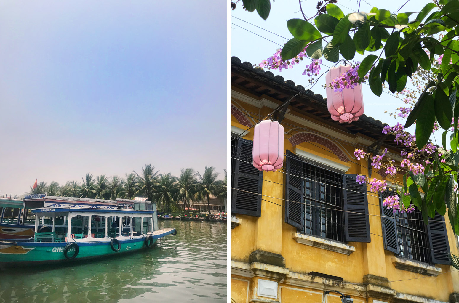 Hoi An (Hội An) Traditional Houses and River Boat