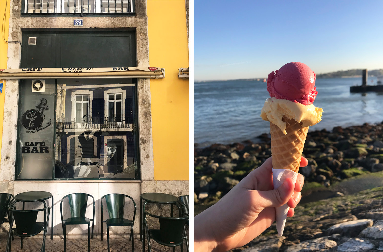 Lisbon Streets and Icecream