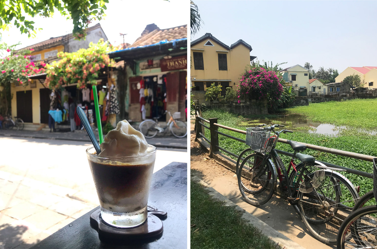 Hoi An Ice Coconut Coffee and View