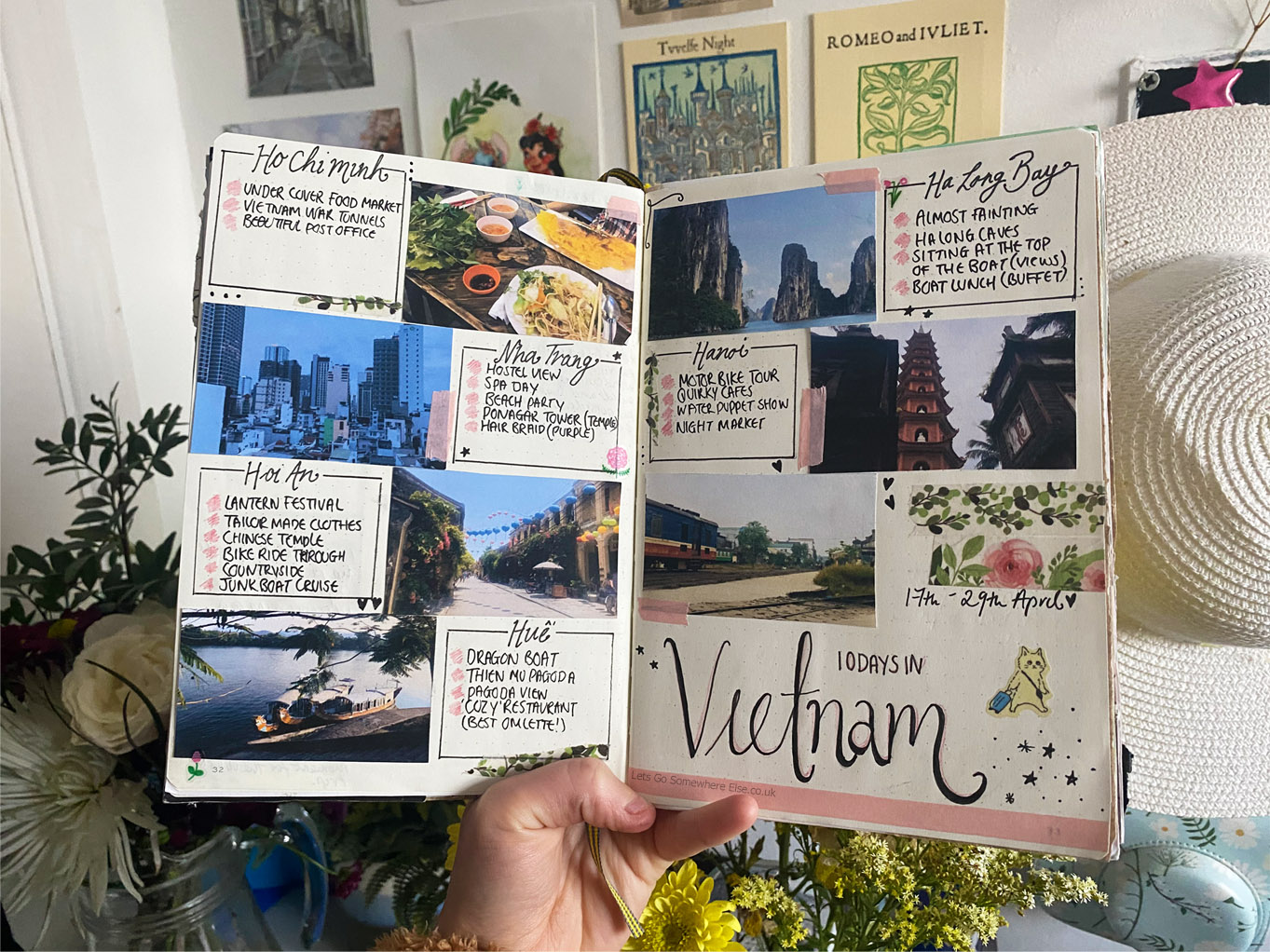 Travel Journal Vietnam
