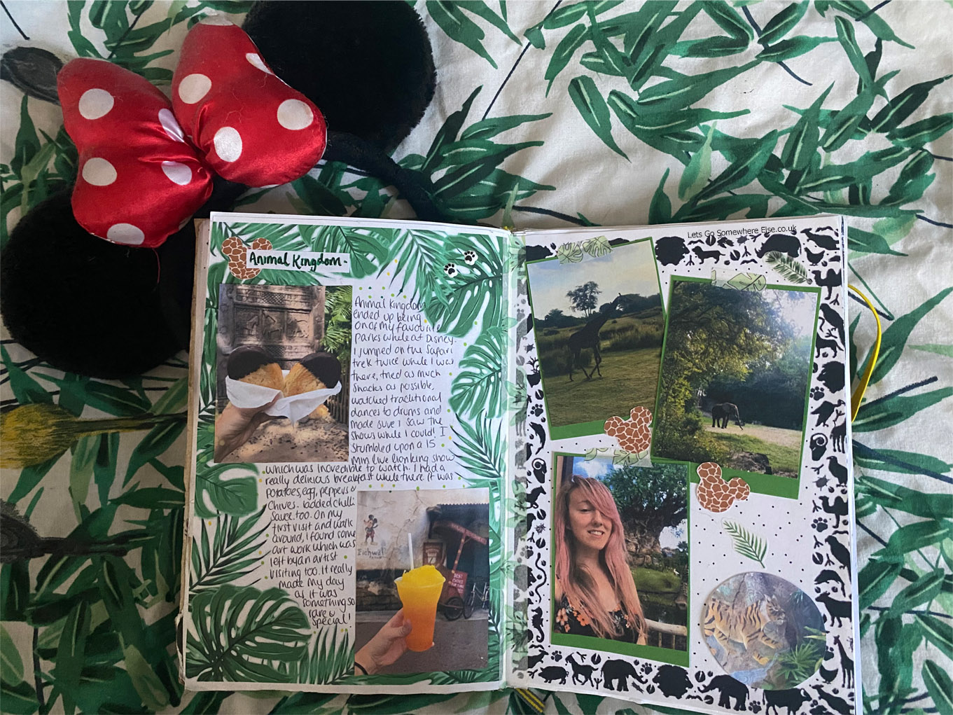 Disney travel journal, animal kingdom