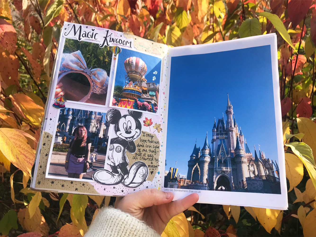 How to start a travel journal disney