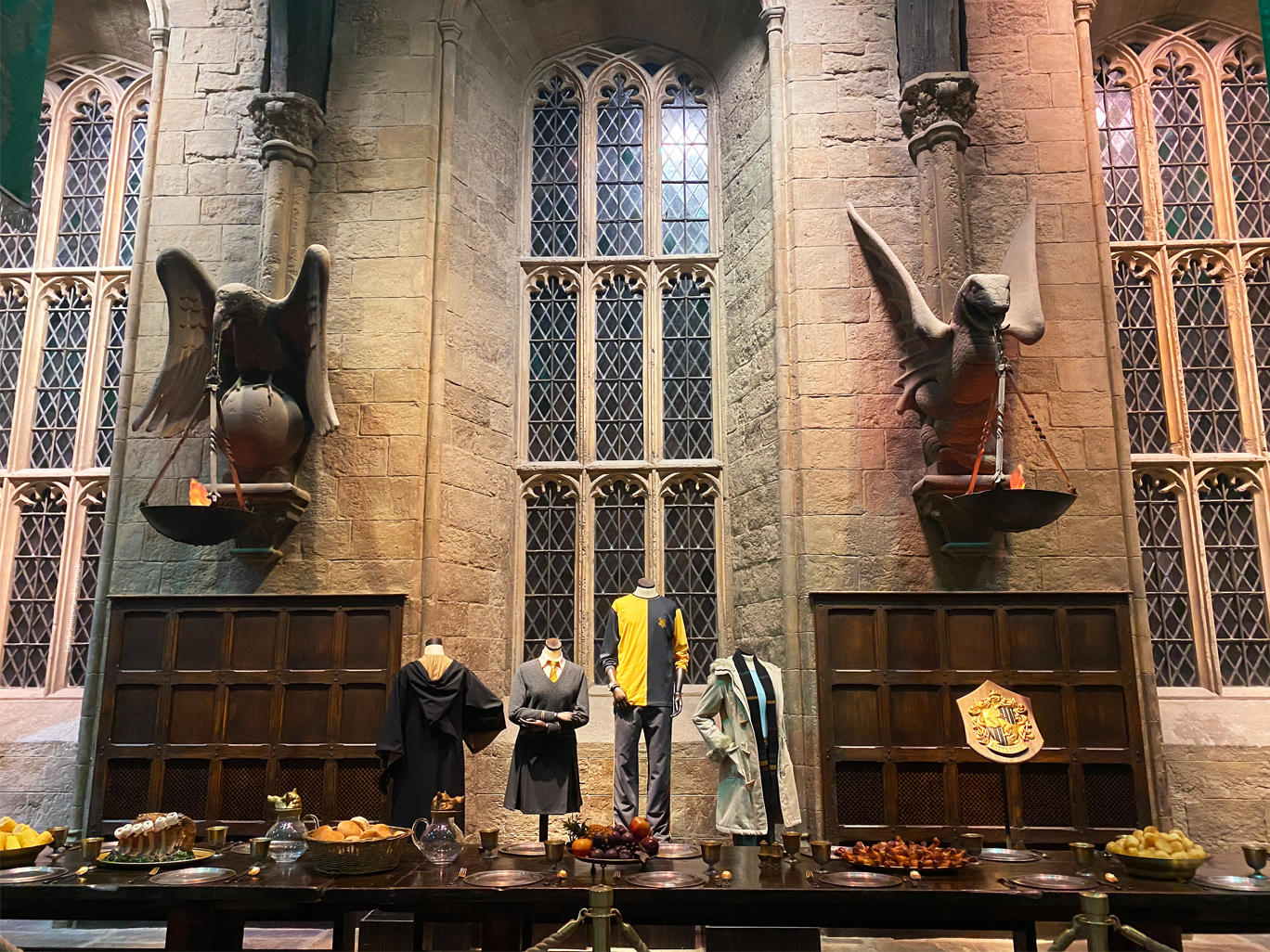 Great Hall Hufflepuff Section