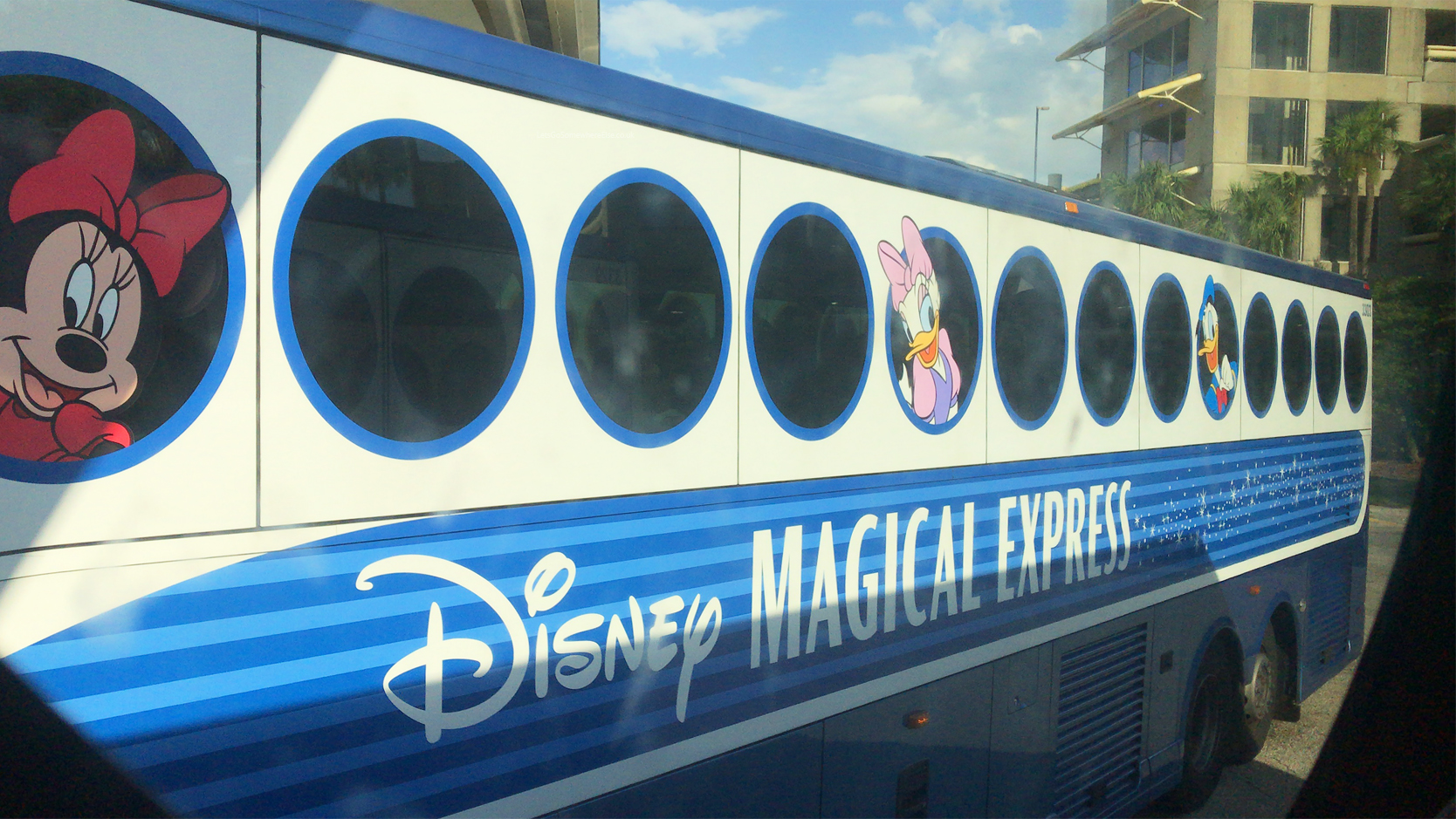 Disney World Mickey's Magical Express Coach updates