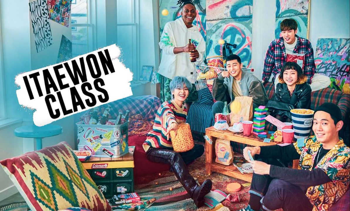 Itaewon Class Kdrama Promotional Poster