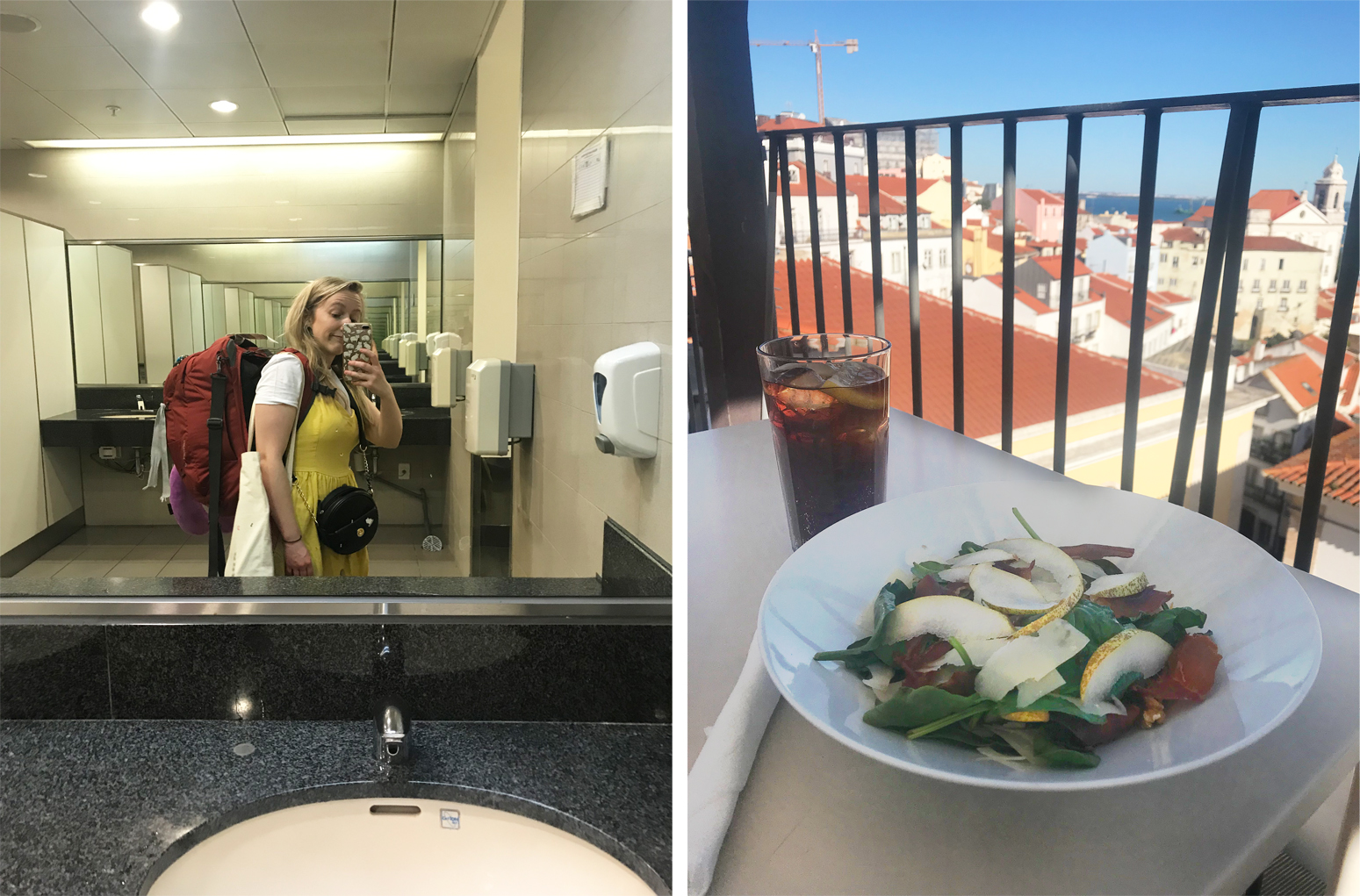 Solo travel, backpack, solo female travel, food