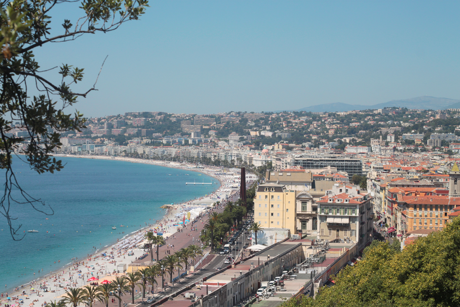 How To Solo Travel, Beach in Nice View